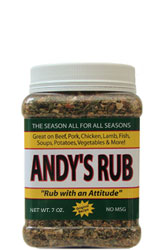 Andy's Rub 7oz