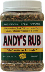 Andy's Rub 21oz